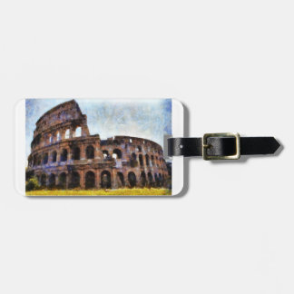 The Colosseum, Rome, Italy Tag For Luggage