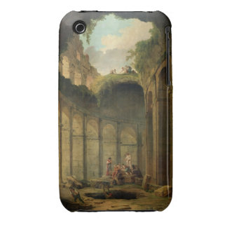 The Colosseum, Rome (oil on canvas) iPhone 3 Case-Mate Cases