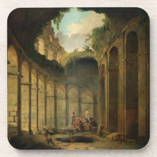 The Colosseum, Rome (oil on canvas) Drink Coaster