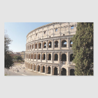 The Colosseum (Rome) Rectangular Sticker