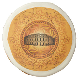 The Colosseum Sugar Cookie