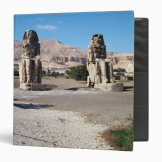 The Colossi of Memnon, statues of Amenhotep Binder