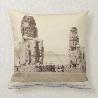 The Colossi of Memnon, statues of Amenhotep III, X Pillow