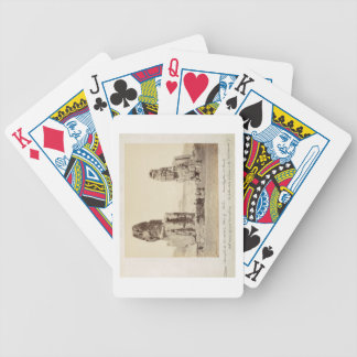 The Colossi of Memnon, statues of Amenhotep III, X Bicycle Playing Cards