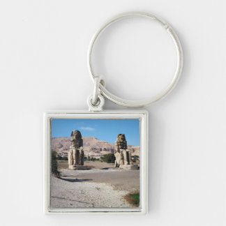 The Colossi of Memnon, statues of Amenhotep Key Chains