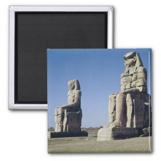 The Colossi of Memnon, statues of Amenhotep Fridge Magnet