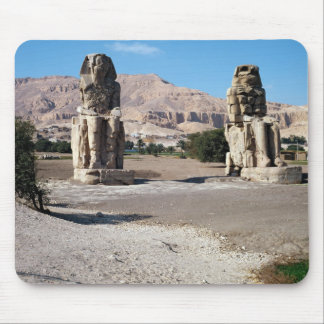 The Colossi of Memnon, statues of Amenhotep Mouse Pad