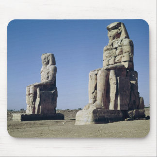 The Colossi of Memnon, statues of Amenhotep Mousepad