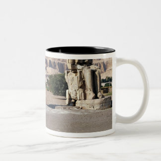 The Colossi of Memnon, statues of Amenhotep Coffee Mugs