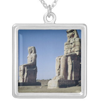 The Colossi of Memnon, statues of Amenhotep Custom Jewelry