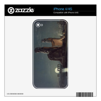 The Colossi of Memnon, Thebes, one of 24 illustrat iPhone 4 Skins