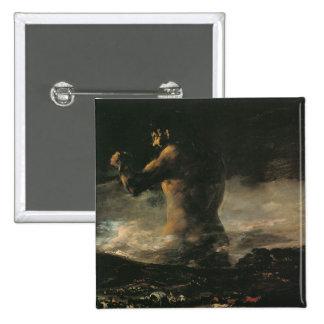 The Colossus, c.1808 2 Inch Square Button