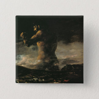 The Colossus, c.1808 Pinback Button