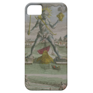 The Colossus of Rhodes, detail of the statue strad iPhone 5 Covers