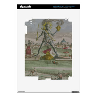 The Colossus of Rhodes, detail of the statue strad iPad 3 Skin