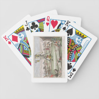 The Colossus of Rhodes, second Wonder of the World Bicycle Playing Cards