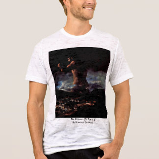 "The Colossus (Or Panic "")"" By Francisco De Goya T-Shirt"