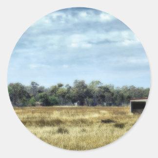 The Colour of Summer - Australia Sticker