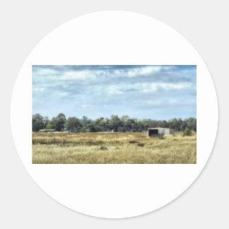 The Colour of Summer - Australia Round Sticker
