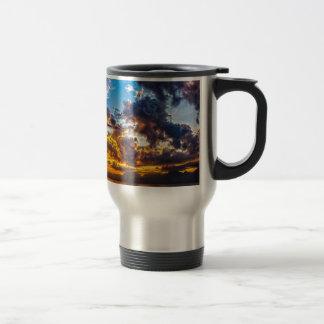 The colour of the sky. travel mug