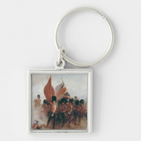 The Colours: advance of the Scots Guards Keychain