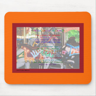 The Colours Of Childhood Poem Mousepad
