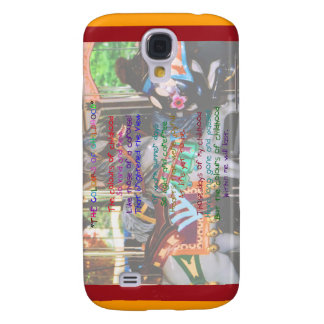 The Colours Of Childhood Poem  Samsung Galaxy S4 Case