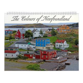 The Colours of Newfoundland Calendar