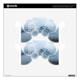 The Columbia Gorge In The Fog PS3 Controller Skin