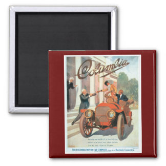 The Columbia Motor Car Company - Vintage Magnet