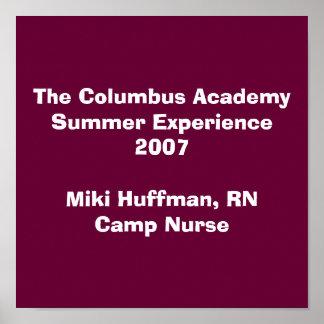 The Columbus AcademySummer Experience 2007Miki ... Poster