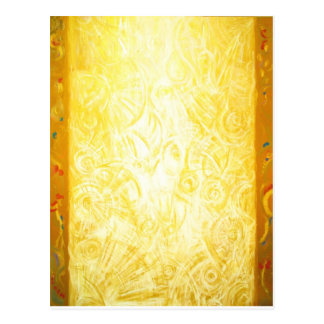 The Column of Light (abstract symbolism) Postcard