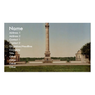 The column of the great army, Boulogne, France cla Double-Sided Standard Business Cards (Pack Of 100)