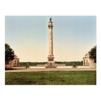 The column of the great army, Boulogne, France cla Postcard
