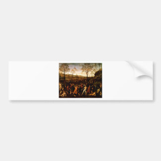 The Combat of Love and Chastity by Andrea Mantegna Bumper Sticker