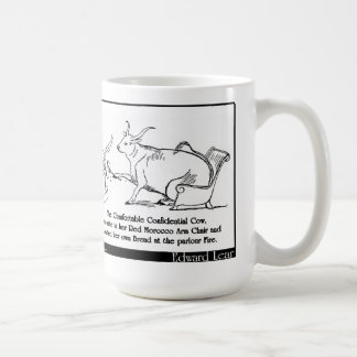 The Comfortable Confidential Cow Mugs