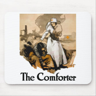 The Comforter -- Red Cross Mouse Pad