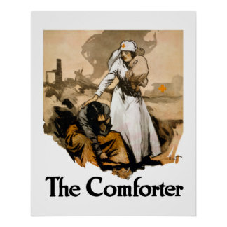 The Comforter -- Red Cross Posters