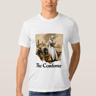 The Comforter -- Red Cross T-shirt