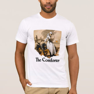 The Comforter -- Red Cross T-Shirt