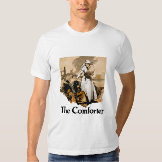 The Comforter -- Red Cross Tee Shirt