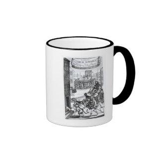 The Comical Romance' by Paul Scarron Ringer Coffee Mug