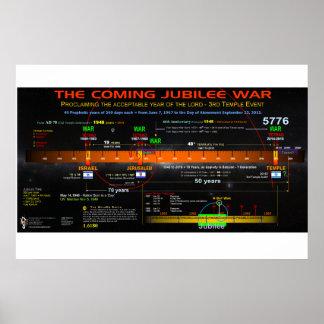 The Coming Jubilee War - Phi Ratios Poster