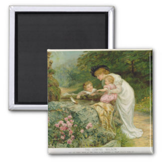 The Coming Nelson, from the Pears Annual, 1901 2 Inch Square Magnet