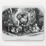 The Coming of Santa Claus, 1872 Mouse Pad