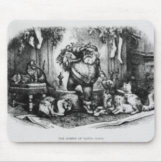 The Coming of Santa Claus, 1872 Mousepad
