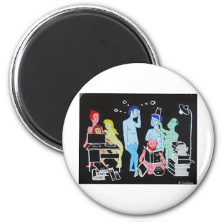 The Coming of Wisdom 2 Inch Round Magnet