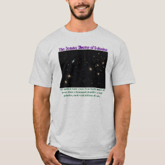 The Comma Cluster of Galaxies T-Shirt