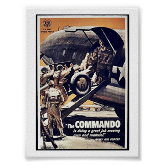 The Commando Posters