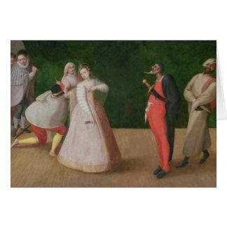 The Commedia dell'Arte Company Cards